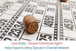 Dusane's Contribution in Expanding Lottery Operator Channel Network